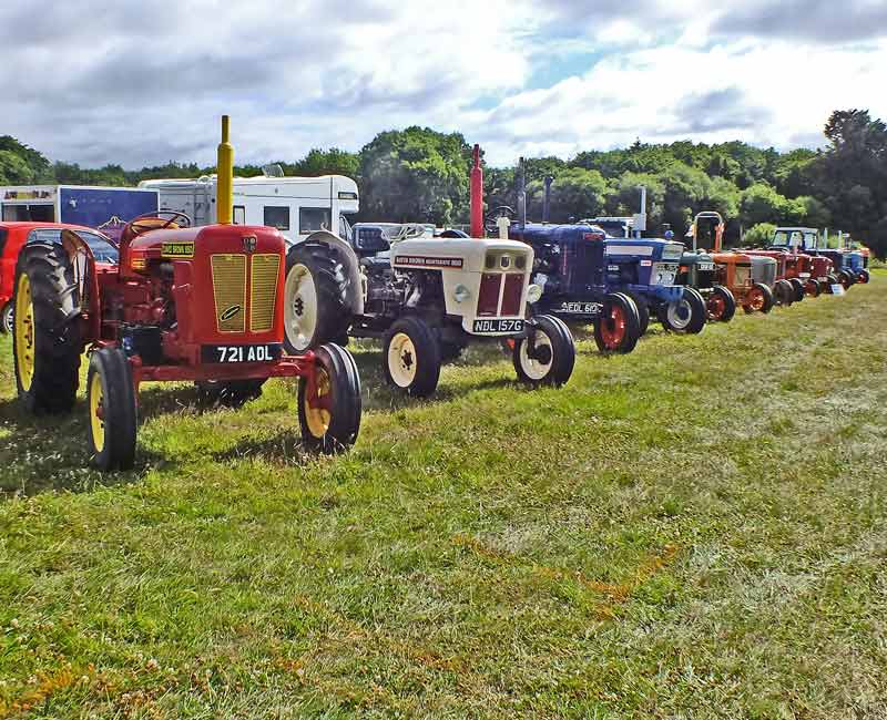 Tractor area